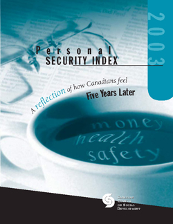 Personal Security Index 2003en cover 250x324